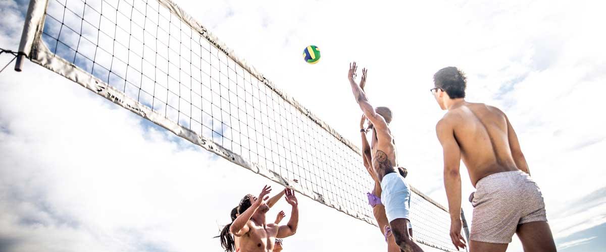 Beach volley για ένταση!